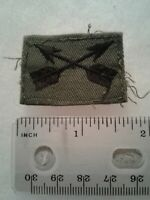 Authentic US Army Special Forces Branch Officer OD Green Insignia Patch