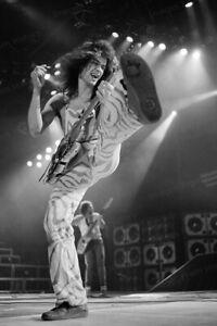 8x10 Print Eddie Van Halen 1982 #EVH