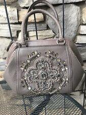 Brighton NWT Czarina Bejeweled Leather Purse/Handbag