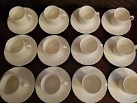 MIKASA Italian Countryside DD 900  Set of 12 Cups and Saucers BEAUTIFUL!