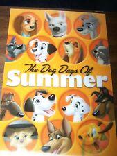 Disney The Dog Days Of Summer 3d lenticular card