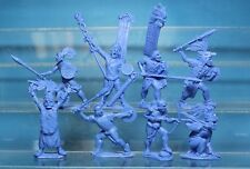 Plastic Toy Soldiers American Conquest  Aztecs warriors NEW!!! 1/32 54 mm