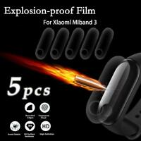 5 pcs For Xiaomi Mi Band 3 Smart Wristband Smart Bracelet Screen Tempered Film