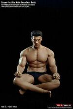 2019 Super Flexible Male Seamless Body TM02A 1/12 TBLeague Strong Man Figure
