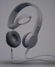 SKULLCANDY ~ CASSETTE Headphones w/Mic1 ~ White ~ BNIB ~ RRP $79.95