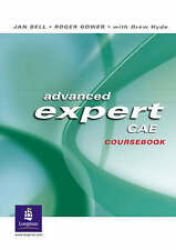 Advanced Expert CAE Coursebook, Very Good Condition Book, Hyde, Drew, Gower, Rog