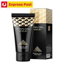Titan Gel Gold Penis Enlargement Cream Special Gel For Men FREE Express Post!