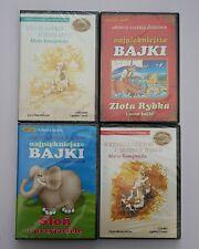 4 Płyty CD z Bajkami dla Dzieci, Polskie Książki Audiobook 10 godzin słuchania
