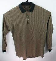Axis men's black and gold polo knit sweater  XLT  extra large tall