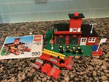 Lego 590 Engine Co. Number 9 Rescue Town City Fire Station Truck