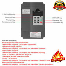 1.5KW 220V Variable Frequency Drive Inverter VFD for 3-phase AC Motor