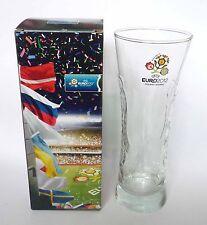 "CARLSBERG Beer Clear GLASS 0.25cl Poland Ukraine EURO 2012 promo Box Malaysia 7"""