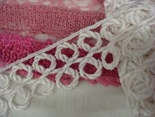 "White Venice Venise Rayon Edge lace trim 1 7/8"" great 4 bridal USA shipper"