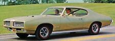 1969 Pontiac GTO Hardtop Coupe Factory Photo J5207