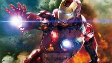 Poster 42x24 cm Iron Man Tony Stark Marvel Cartel Film Cartel Decor Impresion 02