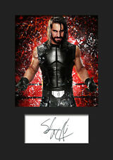 SETH ROLLINS #1 (WWE) Signed Photo A5 Mounted Print - FREE DELIVERY