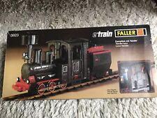 Faller Play-Train/Spur 0   3823 Dampflok schwarz Mit Tenderwagen
