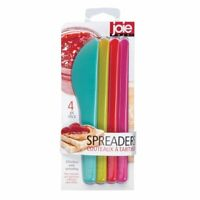 "Joie 7"" Multi Purpose Spreader Knife 4pc Set - Great for Peanut Butter Jelly"