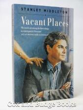 STANLEY MIDDLETON signed Vacant Places 1990 1st paperback edition
