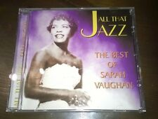 "Sarah Vaughan CD "" THE BEST OF "" Fourmatt"