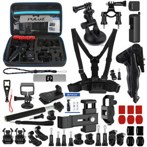 For DJI Osmo Pocket PULUZ 43 in 1 Accessories Combo Kit with EVA Case D2X2