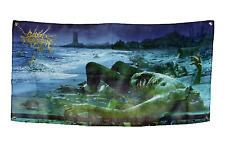 "CATTLE DECAPITATION (Anthropocene Extinction) Banner/Flag 48"" X 24"""
