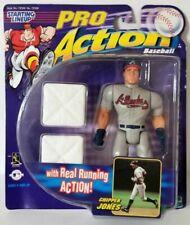 1998 Chipper Jones Atlanta Braves Starting Lineup Baseball Pro Action