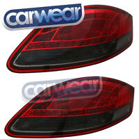 PORSCHE 987 CAYMAN BOXSTER 05-09 SMOKE RED LED TAIL LIGHTS