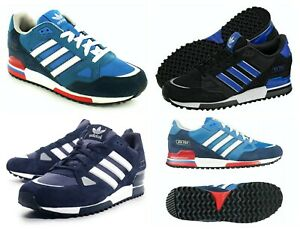 Mens Adidas Originals ZX750 Suede Trainers Sports Running Shoes Size UK 7-12