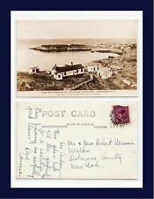 CANADA NEW BRUNSWICK FROM SWALLOW TAIL LIGHTHOUSE 1947 TO WALTON, NEW YORK