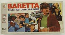 Vintage 1976 BARETTA Street Detective Game Milton Bradley Board Game No 4631