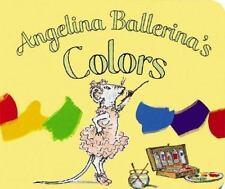 Angelina Ballerina's Colors-ExLibrary