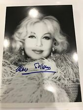 Ann Sothern Autographed 8 x 10 Photo Legendary 1930's Actress