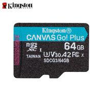 Kingston 64Go Canvas Go! Plus microSDXC V30 Class10 Carte Mémoire TF 170MB/s