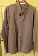 Men's Purple Shirt, Size L (pit To Pit 26 Inch)