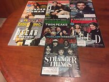 Entertainment Weekly Magazine Lot Of 7 From 2017