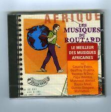 CD (NEW) LES MUSIQUES DU ROUTARD AFRIQUE C.EVORA G.ORYEMA O.SANGARE Y.N'DOUR