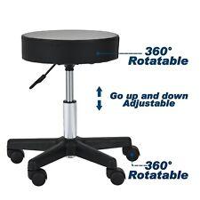 Hydraulic Adjustable Rolling Salon Barber Stool Chair Tattoo Massage Facial Spa