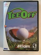 Tee Off - Sega Dreamcast - Replacement Case - No Game