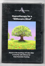 """Hypnotherapy for a""""Millionaire Mind""""&""""Inne r Peace"""" Peak Potentials Training Cds"""