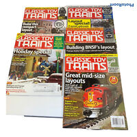 Lot 5 Classic Toy Trains Magazine 2012 Model Railroads Christmas FS