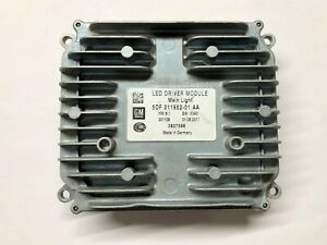 OEM 16-18 Cadillac CT6 LED Driver Module Control Unit Light Computer Controller