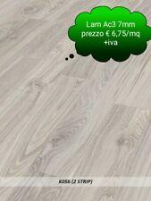 OFFERTA@Pavimento laminato Ac3 7mm scatole da mq 2,47 unità vendita a scatola