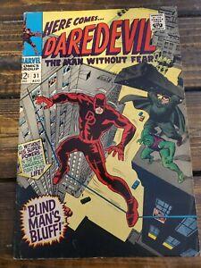 Daredevil #31 F-VF 1967 HYDE & COBRA