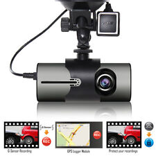 "Indigi 2.7"" LCD Dash Cam DVR + GPS Module & Google Maps Review + Front Back Lens"