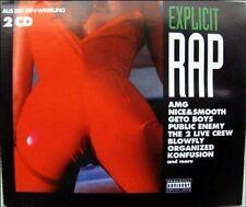 Explicit rap (#zyx70067) AMG, A Tribe Called Quest, AA. FAD, public en [CD DOPPIO]