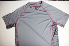 Adidas Men's Stay Cool Shirt Grey Medium