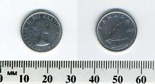 Canada 1956 - 10 Cents Silver Coin - Queen Elizabeth II - Bluenose sailing - #2