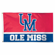 Ole Miss Throwback Vintage Large Outdoor Flag
