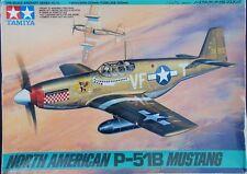 Tamiya 1/48 61042 North American P-51B Mustang from Japan Rare